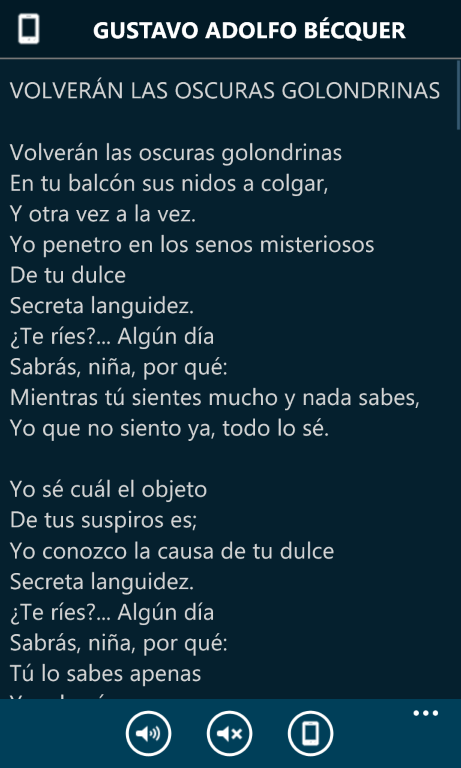 Poesía eres tú para Windows Phone 8
